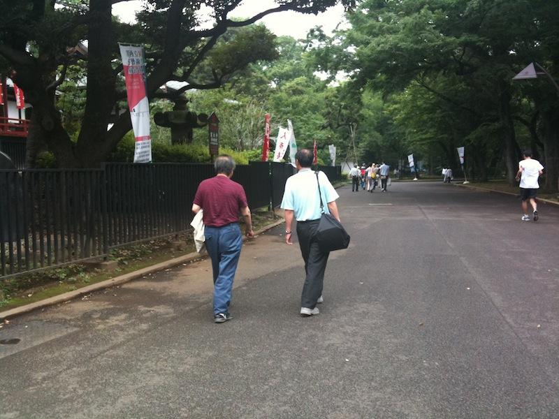 東京 山谷、上野等: 潜入者の飯...